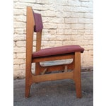 Image of Midcentury Wooden Side Chair - Pair