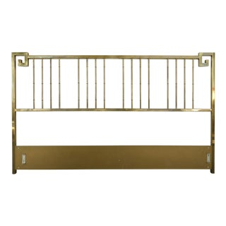 Mastercraft King Brass Headboard