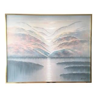 Sunrise Naturescape Original Painting