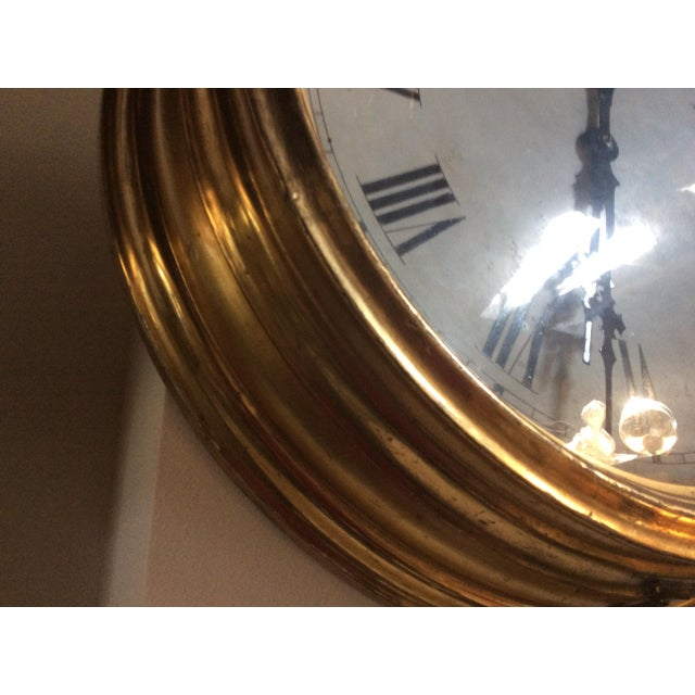 Antique Giltwood Clock - Image 6 of 6