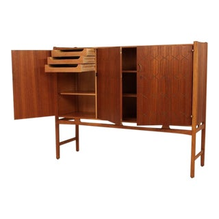 David Rosen Raised sideboard for Nordiska Kompaniet, Sweden, 1950s