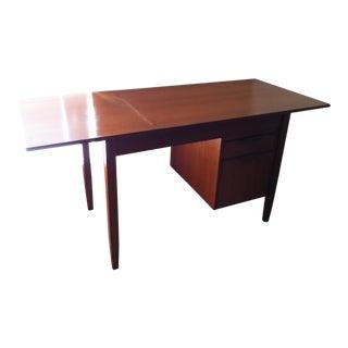 Mid-Century Danish Modern Teak Dropleaf Desk