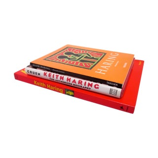 Keith Haring Pop Art Graffiti Art Books - Set of 3