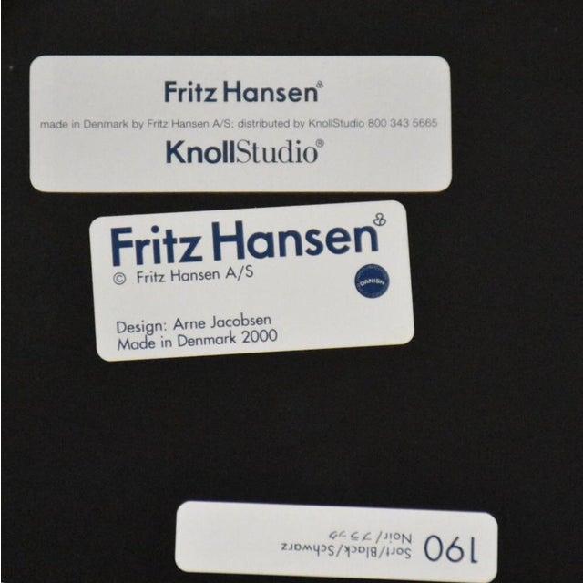 Arne Jacobsen Fritz Hansen Chairs - Set of 4 - Image 11 of 11