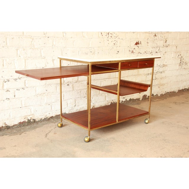Paul McCobb for Calvin Irwin Collection Bar Cart - Image 4 of 11