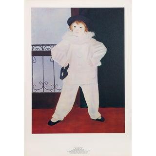 """Pablo Picasso """"Paul en Pierrot"""" Lithograph"""