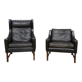 Scandinavian Modern Chairs- Set of 2