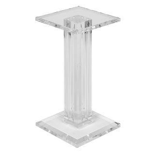 French Mid-Century Lucite Side Table