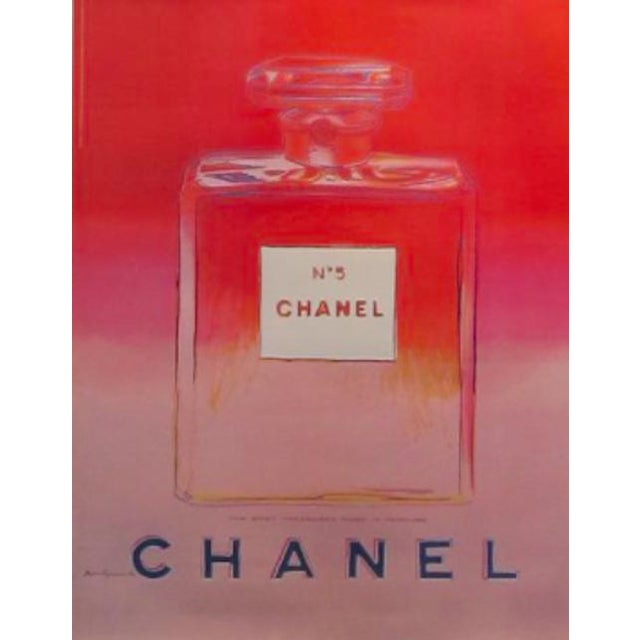 Image of Andy Warhol Chanel #5 Poster
