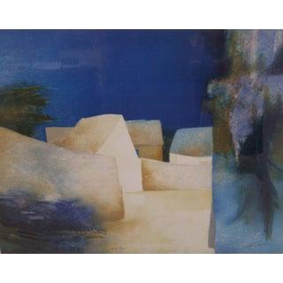 'Cedres Bleus' Print by Claude Gaveau