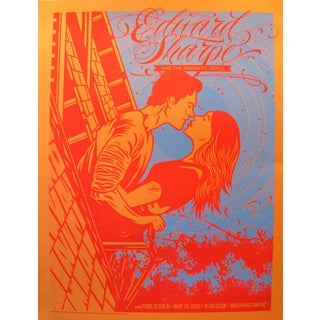 2012 American El Jefe Concert Poster, Edward Sharpe and the Magnetic Zeros