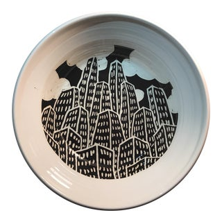 Skyscrapers Modern Serving Bowl