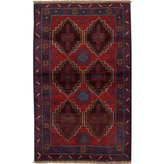 "Apadana - Vintage Persian Balouch Rug, 2'7"" x 4'4"""