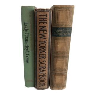 Antique Books & Plays - Set of 3