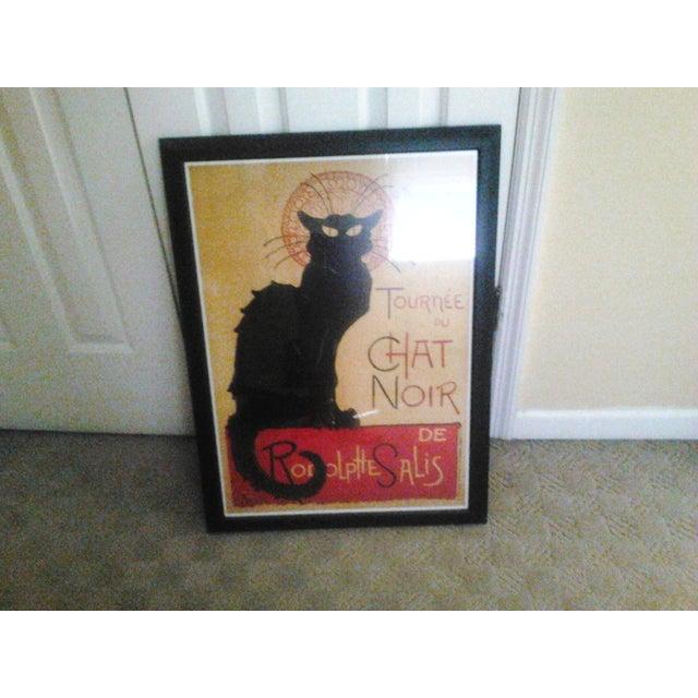 """""""Tournee Du Chat Noir"""", Framed Poster - Image 6 of 6"""