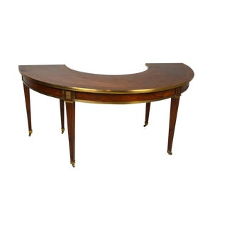 Elegant Neo-Classical Style Hunt Table or Desk