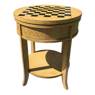 Chess Game Accent Table