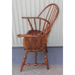 Image of 18th Century Sack Back Extended Arm Windsor Chair