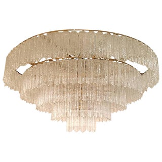 Tronchi Mid Century Five-Tier Chandelier