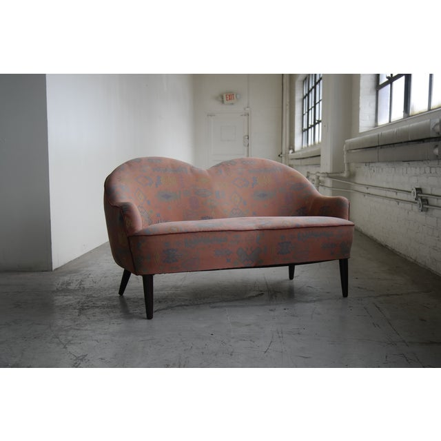 Mid Century Loveseat Attributed to IB Kofod Larsen - Image 3 of 10