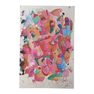 Abstract Watercolor by Natasha