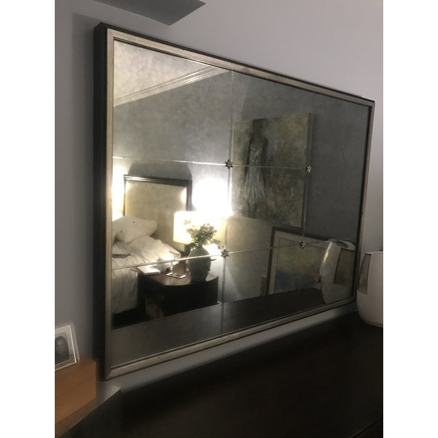 Ethan Allen Rosette Wall Mirror - Image 2 of 4