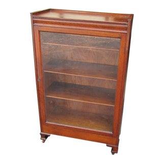 Antique American Golden Oak Bookcase