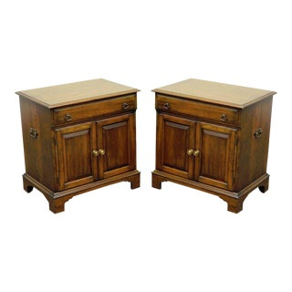 Pennsylvania House Vintage Cherry Commodes Nightstands - A Pair