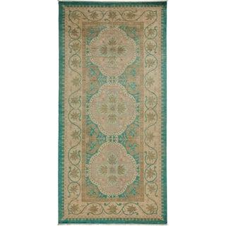 "Contemporary Oushak Hand-Knotted Rug- 5' 4"" x 10' 10"""