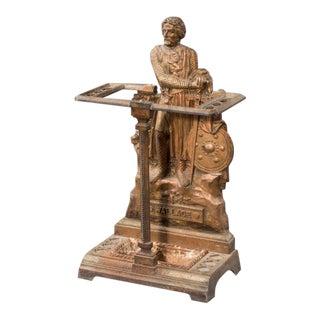 A 19th century Scottish cast iron stick stand