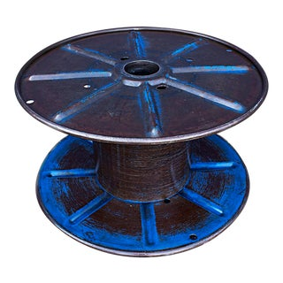 Vintage Steel Cable Spool Circa 1960s