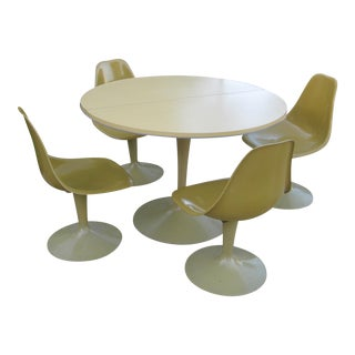 Vintage Saarinen Style Tulip Dining Set