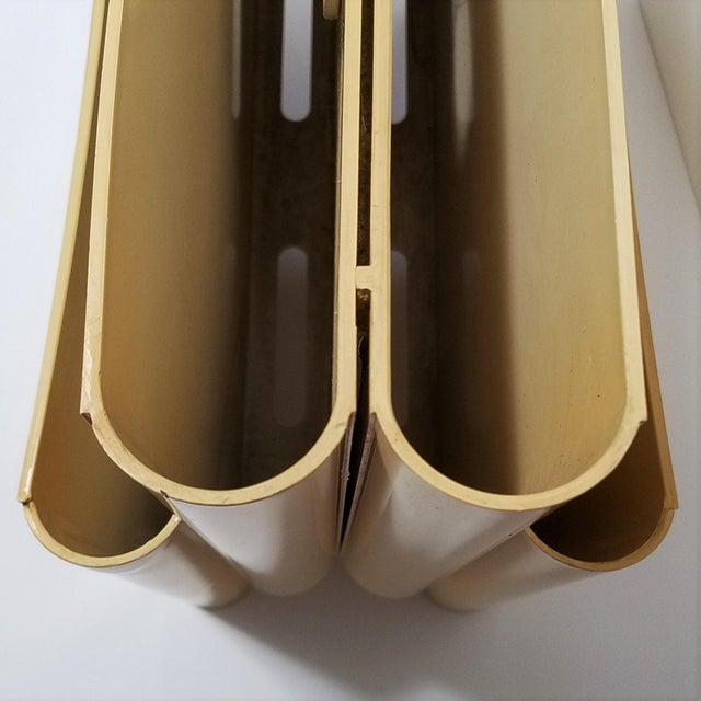 Vintage Ivory Giotto Stoppino Magazine Rack for Kartell - Image 9 of 10