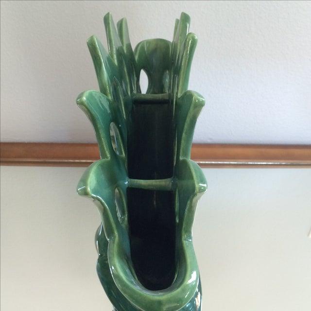 Royal Haeger Peacock Vase - Image 11 of 11