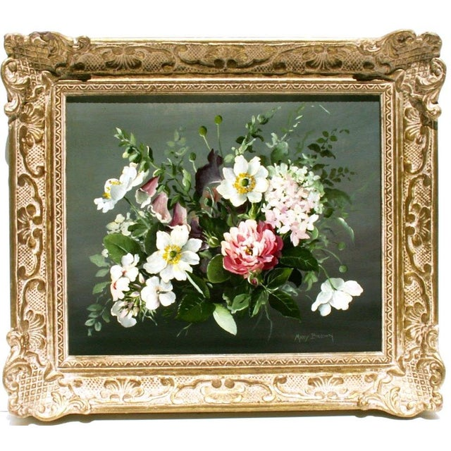 Floral Oil Painting by Mary Brown - Image 2 of 3