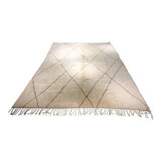 """Moroccan Organic Wool Rug - 10'11"""" x 16'5"""""""