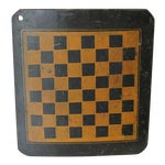 Image of 19th Century Original Painted Checkers Game Board