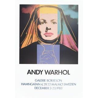 Andy Warhol-Ingrid The Nun-1983 Poster