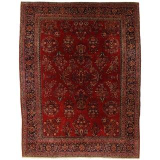 Fine Antique Persian Kashan - 8′11″ × 11′8″