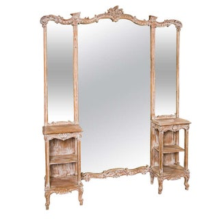 French 3-Panel Dressing Mirror