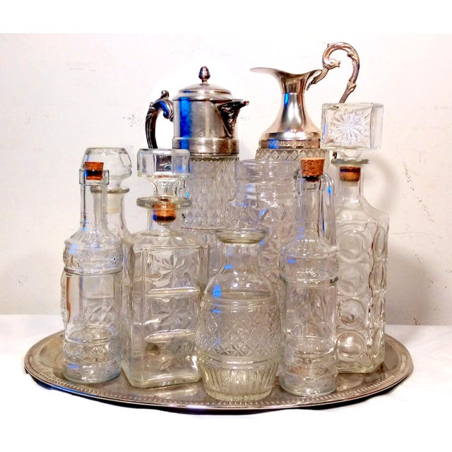 Italian Crystal & Glass 10-Piece Beverage Set - Image 2 of 11