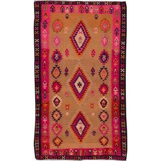 "Apadana - Vintage Kilim Rug, 6'5"" x 10'8"""