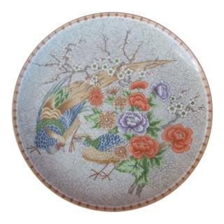 Fleurs De Chine Plate