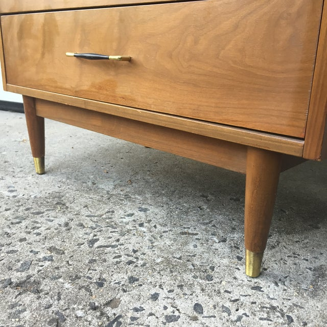 Image of Mid-Century Modern Three Drawer Dresser