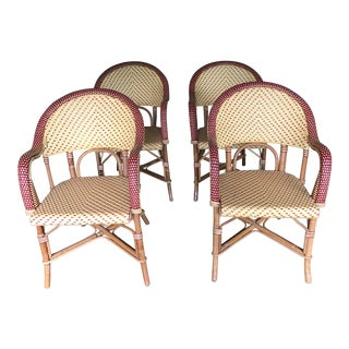 Maison Gatti Woven Cafe Chairs - Set of 4
