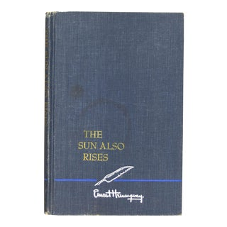 "1926 ""The Sun Also Rises"" Ernest Hemingway Novel"