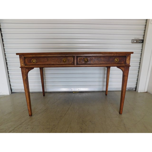 Vintage Henredon Wooden Desk - Image 3 of 11
