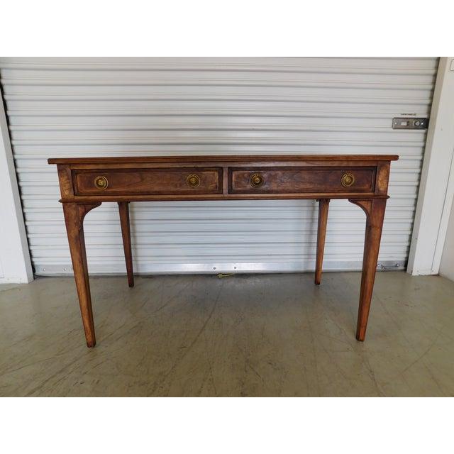 Image of Vintage Henredon Wooden Desk