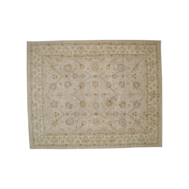 """Image of Leon Banilivi Oushak Carpet - 8'1"""" X 10'"""