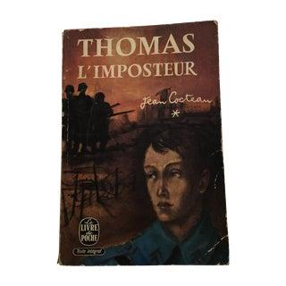 Thomas l'Imposteur Jean Cocteau 1923 Book